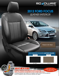ford focus leather seat